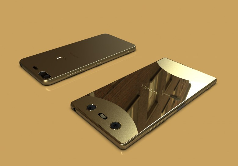 Sony's Bezel-Less Smartphones Leaked With Dual Camera And Glass Back Panel