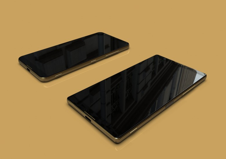 Two Sony flagship smartphones with full-screen design leaks via renders
